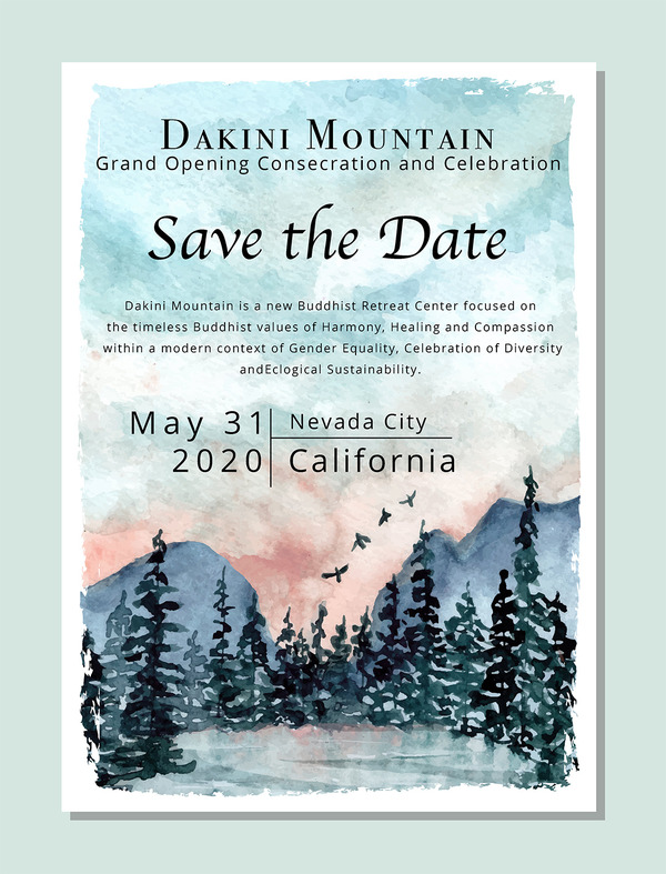 Dakini Mountain Grand Opening_May 31 2020