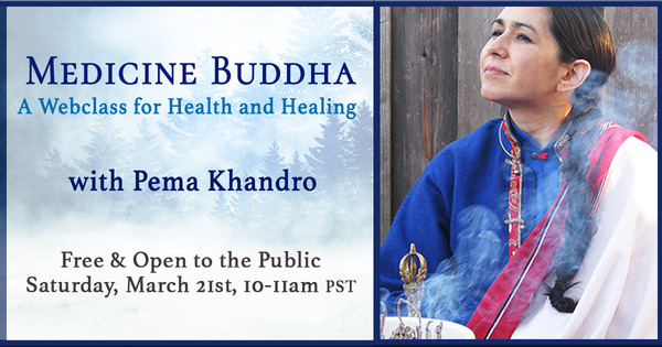 2020b_Medicine Buddha Webclass with Pema Khandro